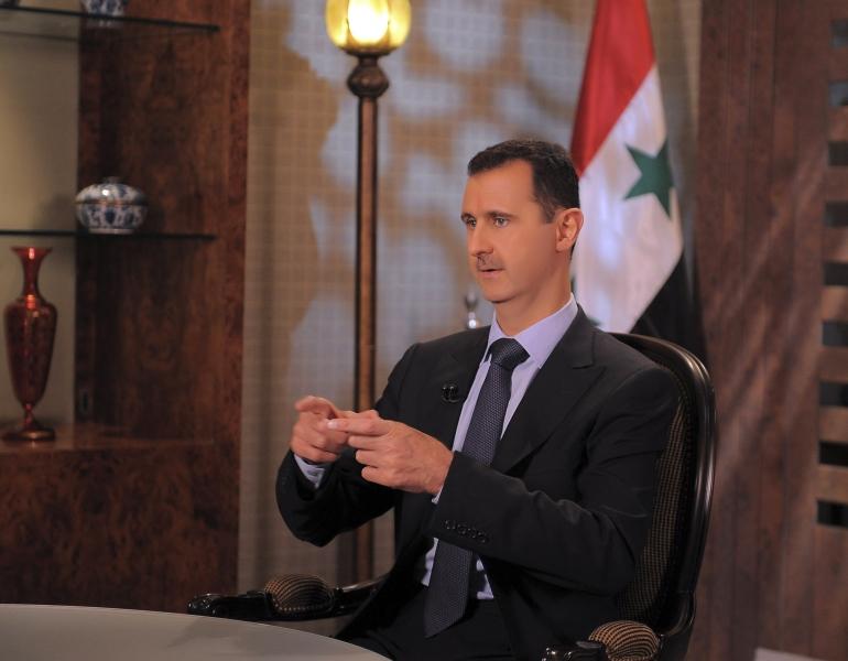 Bašar al Asad: Za izbjegličku krizu kriv je Zapad