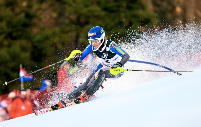Skijanje na Crvenom spustu