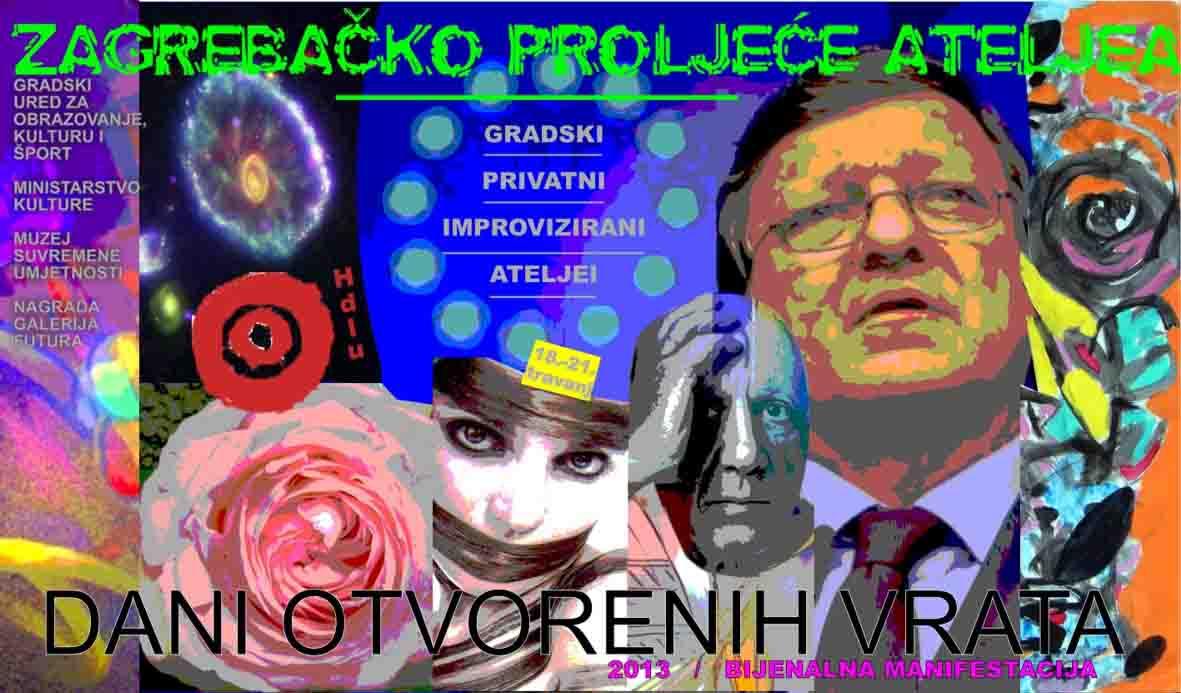 zg proljece ateljea-2013 plakat