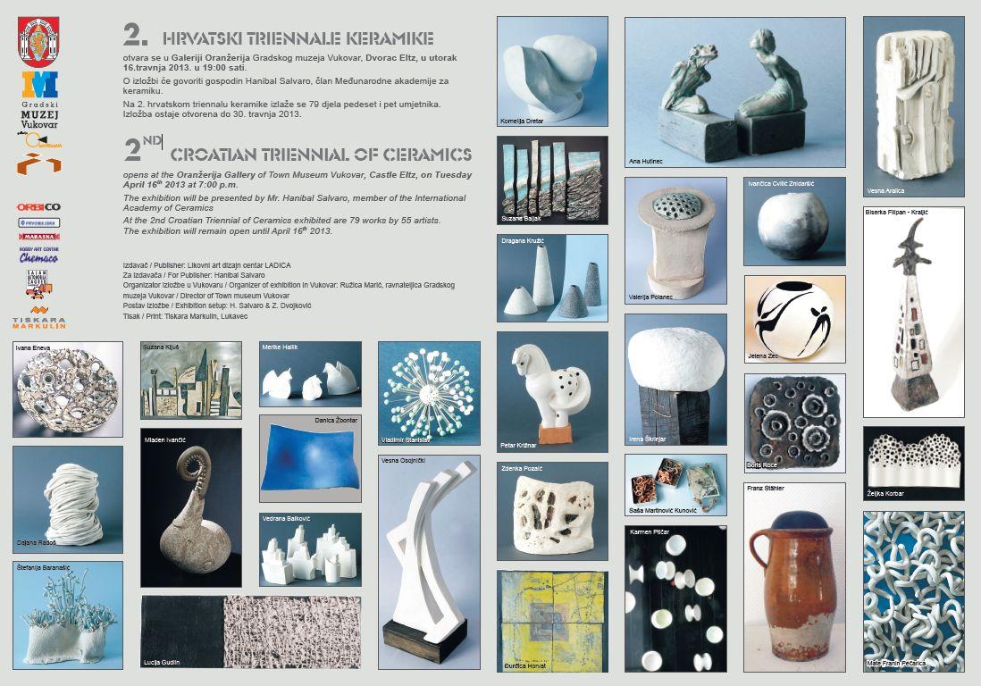 2. hrvatski triennale keramike u Vukovaru