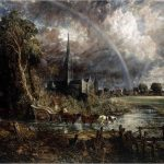 John Constable-Salisbury Cathedral from the meadows