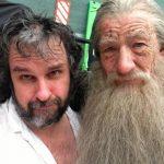 Orlando Bloom i Ian McKellan
