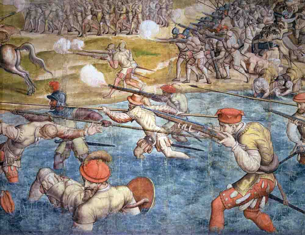 Bojno polje kod TunisaCornelisz Vermeyen 1546-50 Kunsthistorisches Museum
