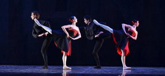vecer tri baleta