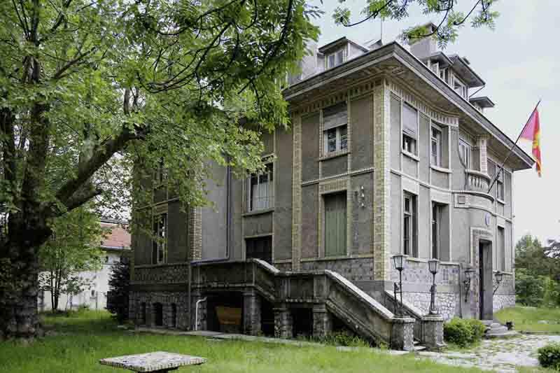 Francusko poslanstvo Cetinje c Adolf Stiller