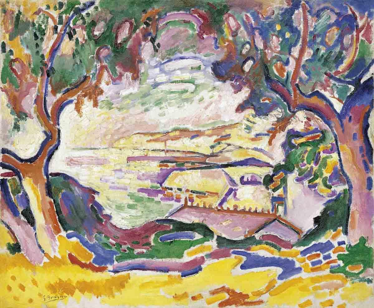 Georges Braque Seascape
