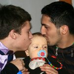 Male Couple With Child