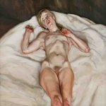 Naked Girl The Lucian Freud Archive The Bridgeman Art Library