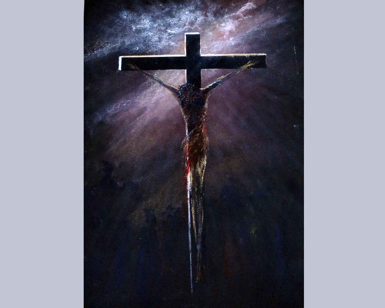 12 Isus umire na križu