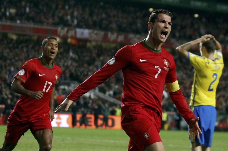Cristiano Ronaldo zabio svedskoj