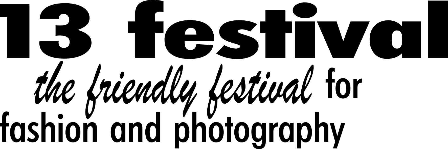 13festival Logo SW black