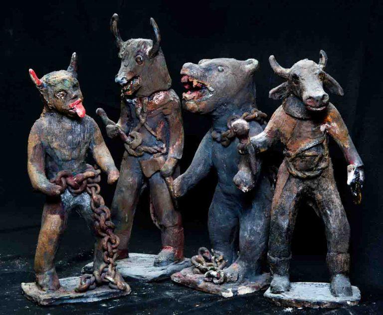 Izložba Margarete Krstić: Dondolaši i zvončari u keramici