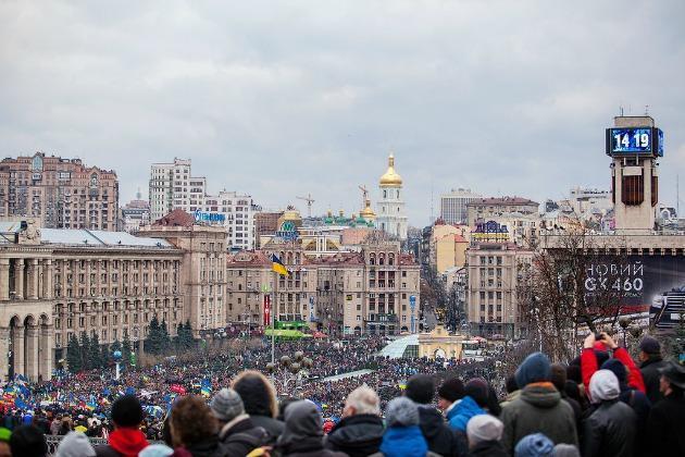 Maidan-Kijev