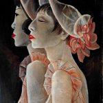 Jeanne Mammen Revuegirls 1928-1929 Berlinische Galerie