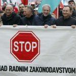 prosvjed sindikati