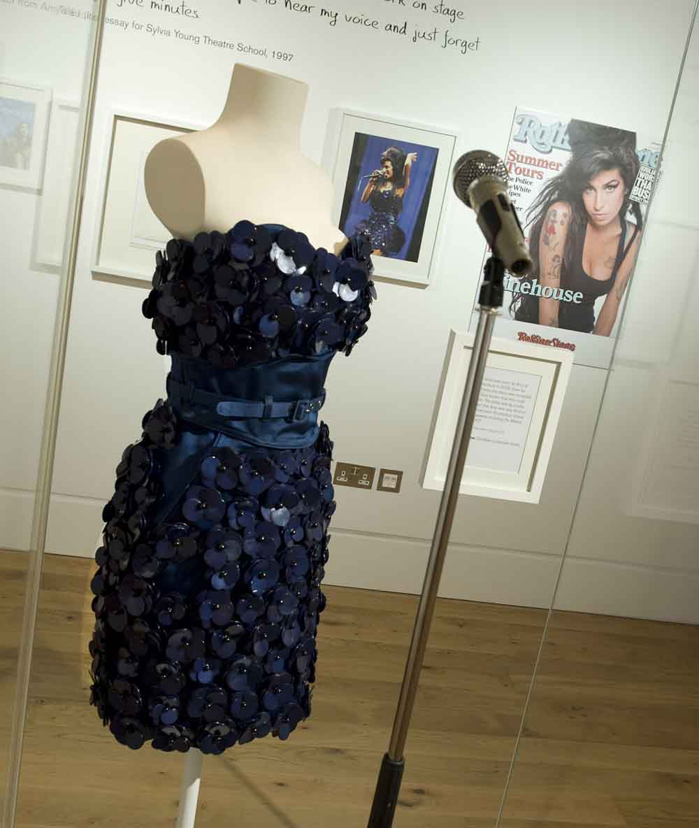 Dress by Luella Bartley worn by Amy at Glastonbury 2008The Jewish Museum