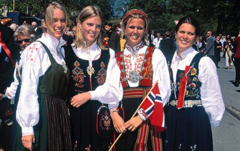 Norweigian girls