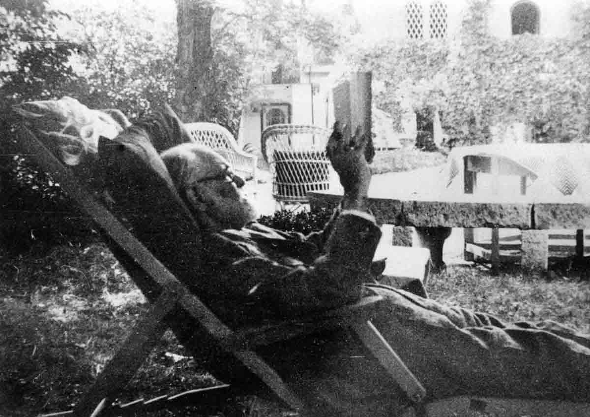 Freud na ležaljci c Sigmund Freud Privatstiftung
