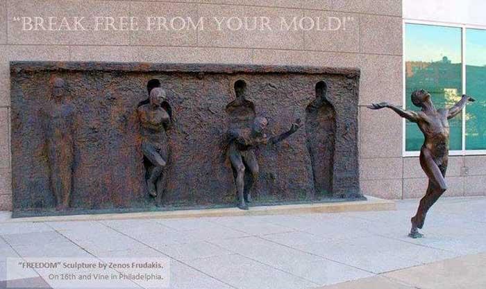 sculpture by Zenon Frudakis