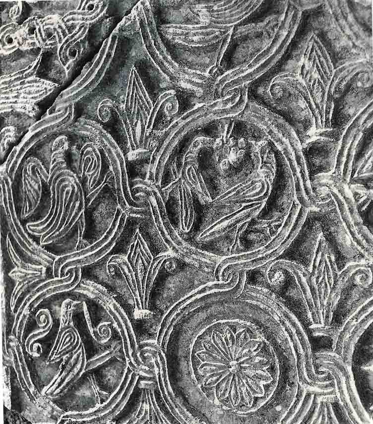 Ulomak pluteja iz crkve Sv Mihovila u Pridragi 9 st