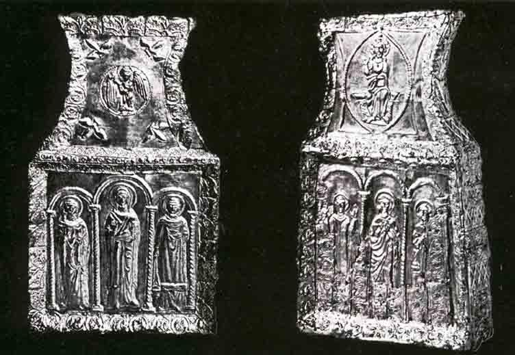 Moćnici Sv. Marcele Asela i Ambrozija iz Nina