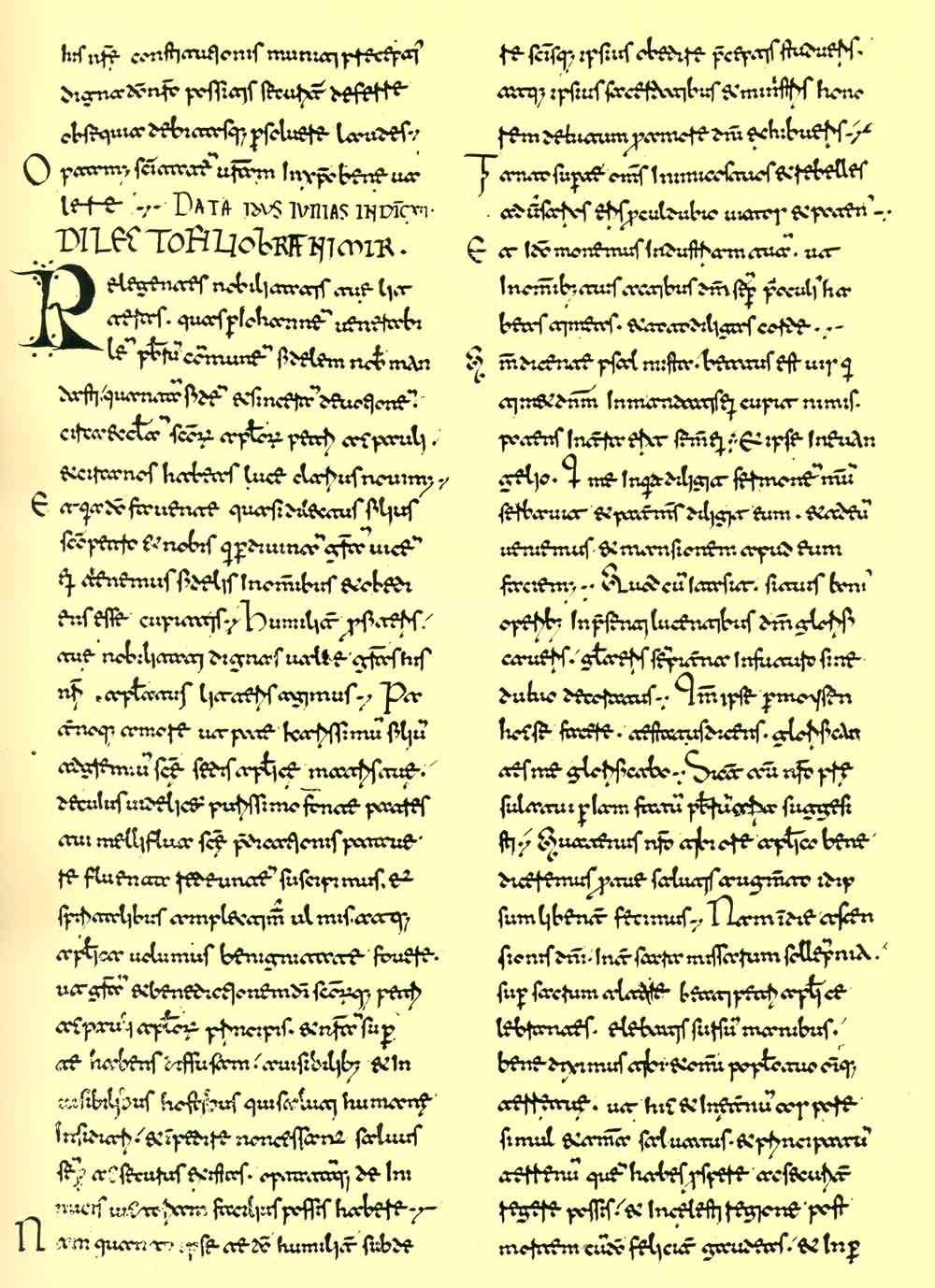 Pismo pape Ivana VIII. hrvatskom knezu Branimiru