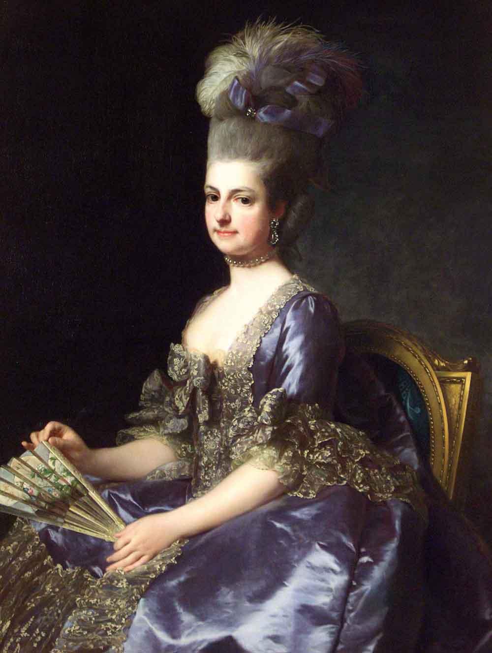 Alexandre Roslin Vojvotkinja Marie Christine 1778 Albertina