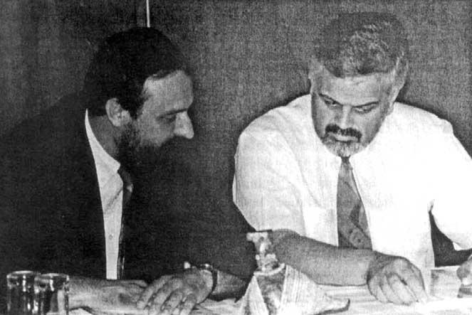 Goran Hadžić i Vojislav Stanimirović