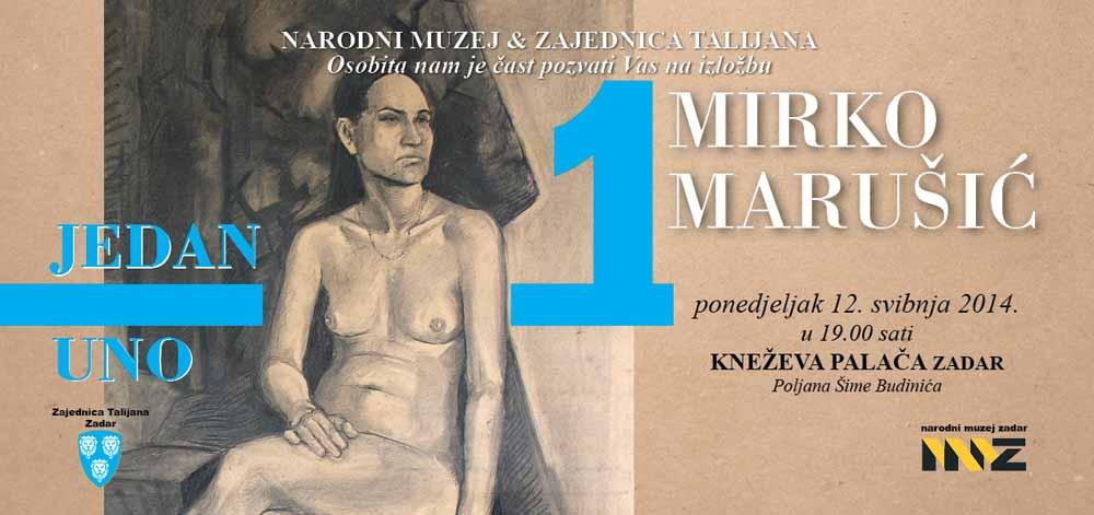 Invito mostra Mirko in Croato