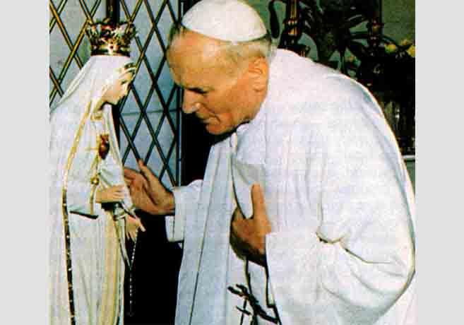 Papa-i-Gospa-Fatimska