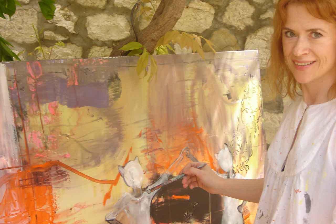 Lydia Patafta slovačka umjetnica sa zagrebačkom adresom