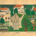 crtež Marije Novosel Ličko Petrovo Selo