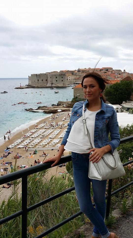 Miss Universe Ivana Mišura u šetnji Dubrovnikom