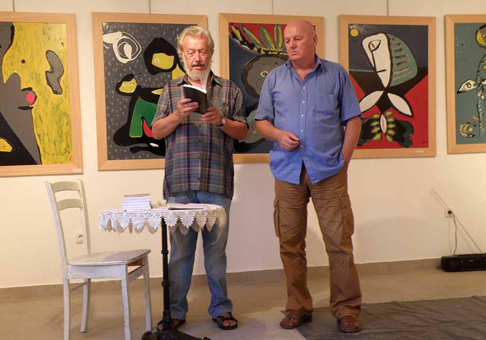 Bilosnić i Lovrić na predstavljanju Odiseja
