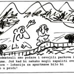 Karikatura Zapalimo i more
