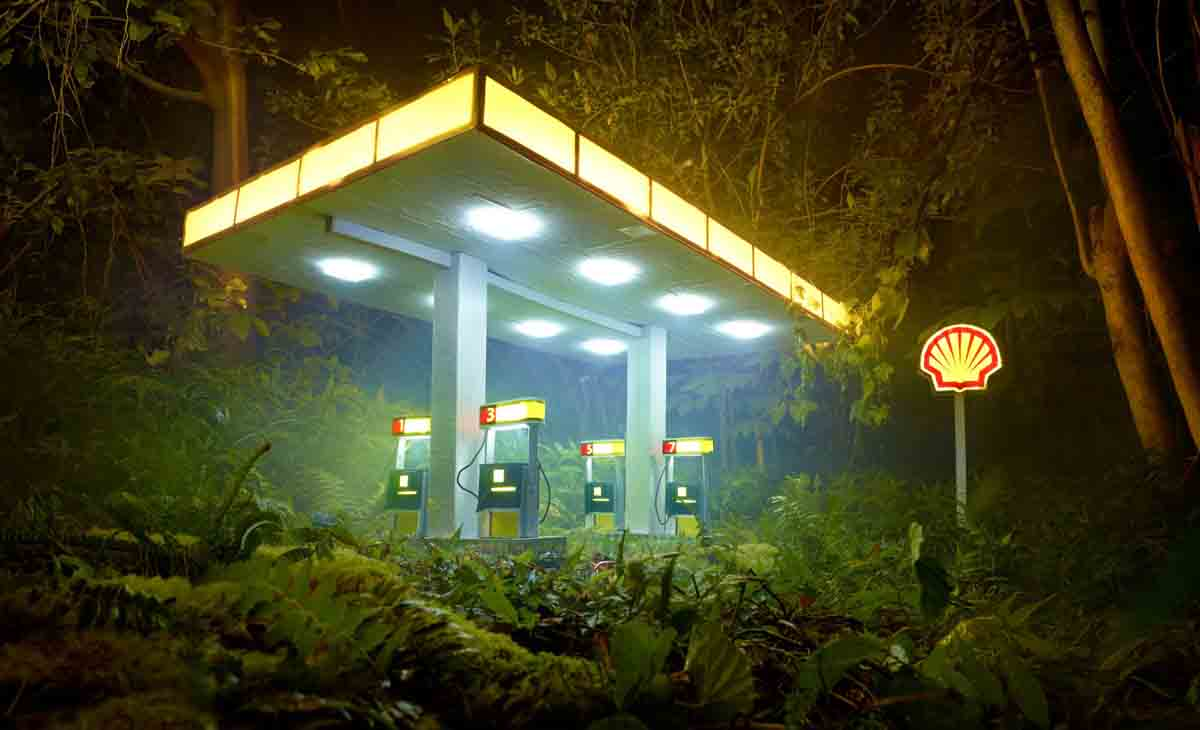 David LaChapelle Gas Shell 2014 David LaChapelle