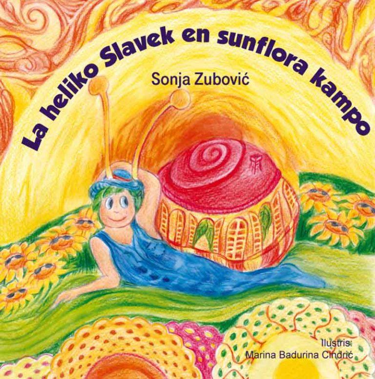 """Predstavljanje dječje knjige """"Puž Slavek u polju suncokreta"""""""