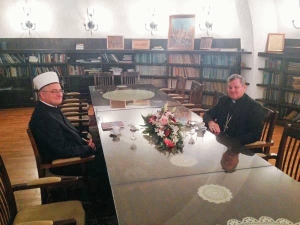 Vlado Košić i muftija Hasanović