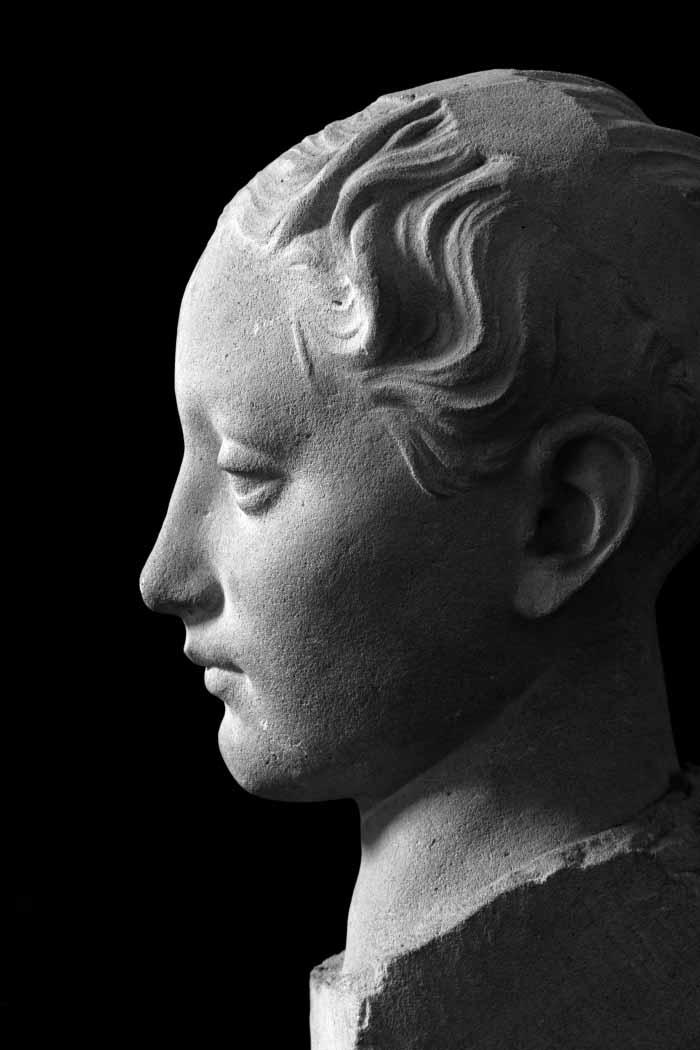Mihajlo Živić Glava djevojke 1929-1936