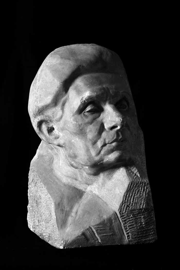 Oscar Nemon Portret Johane Adler 1925-1928