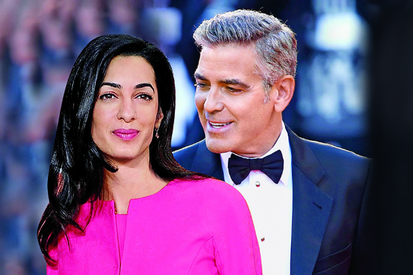 Clooney i Amal
