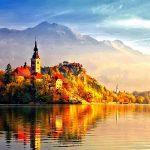 Beautiful Autumn Castle-Franka Zetko