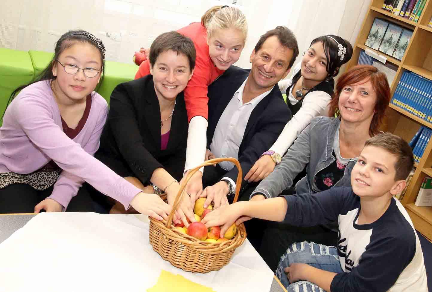 Više organski uzgojenog voća u bečkim školama