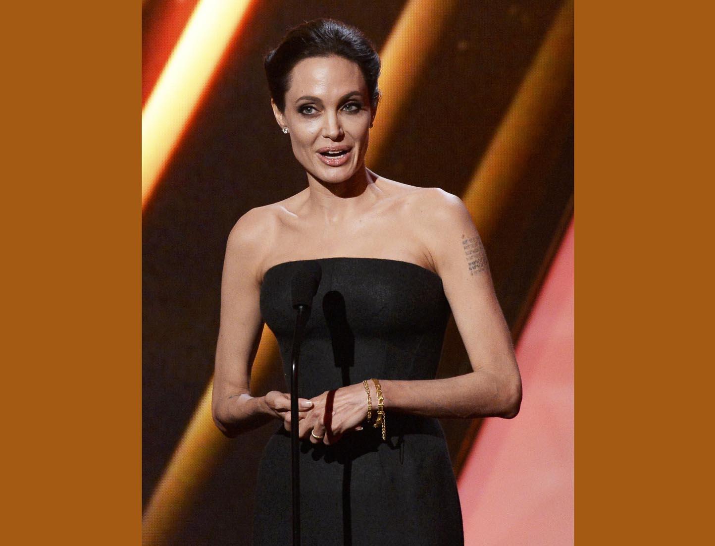 Premršava Angelina Jolie ponovno šokirala izgledom