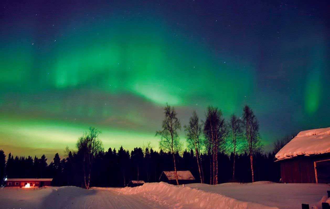 finska rovaniemi polarni sij