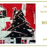 Božić u mom domu-pozivnica