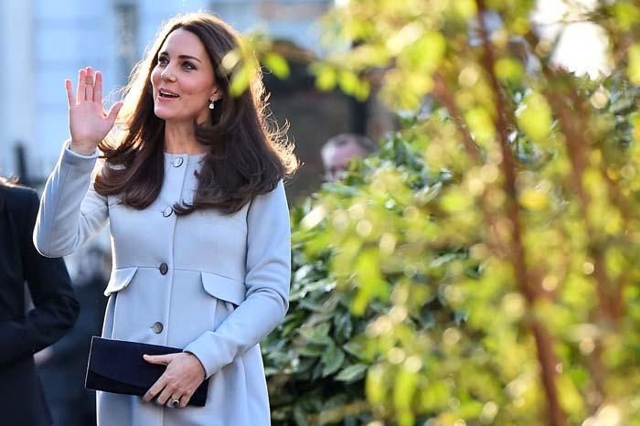 Kate Middleton ne skriva trudnički trbuh