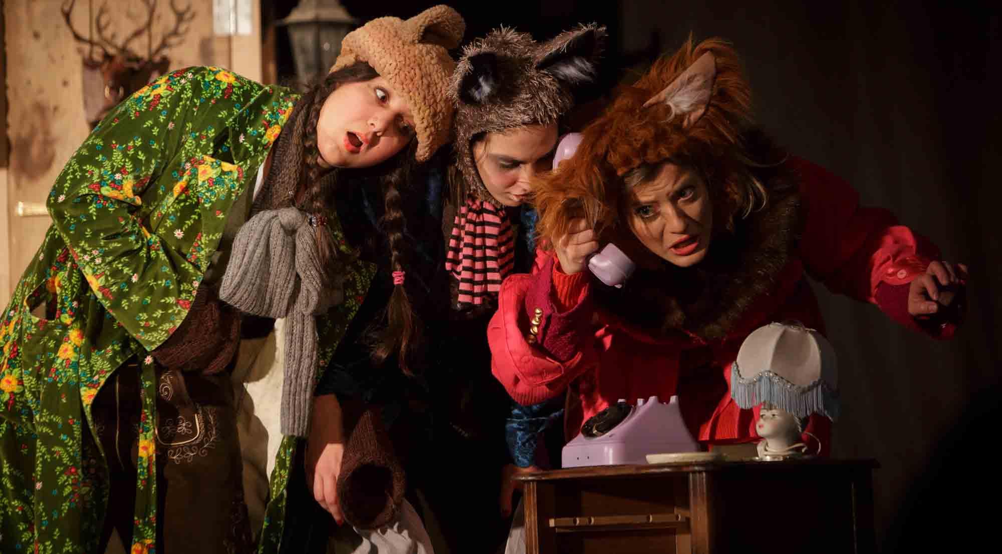 Najnovija predstava kazališta Tvornica lutaka: Hotel Medo