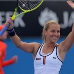 Dominika Cibulkova by GREG WOOD