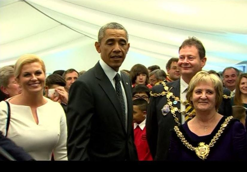 Zbog Obame pomaknuta inauguracija Kolinde Grabar Kitarović